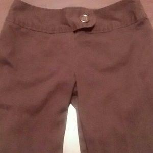 Pants - Brown small 2-4 size kackies